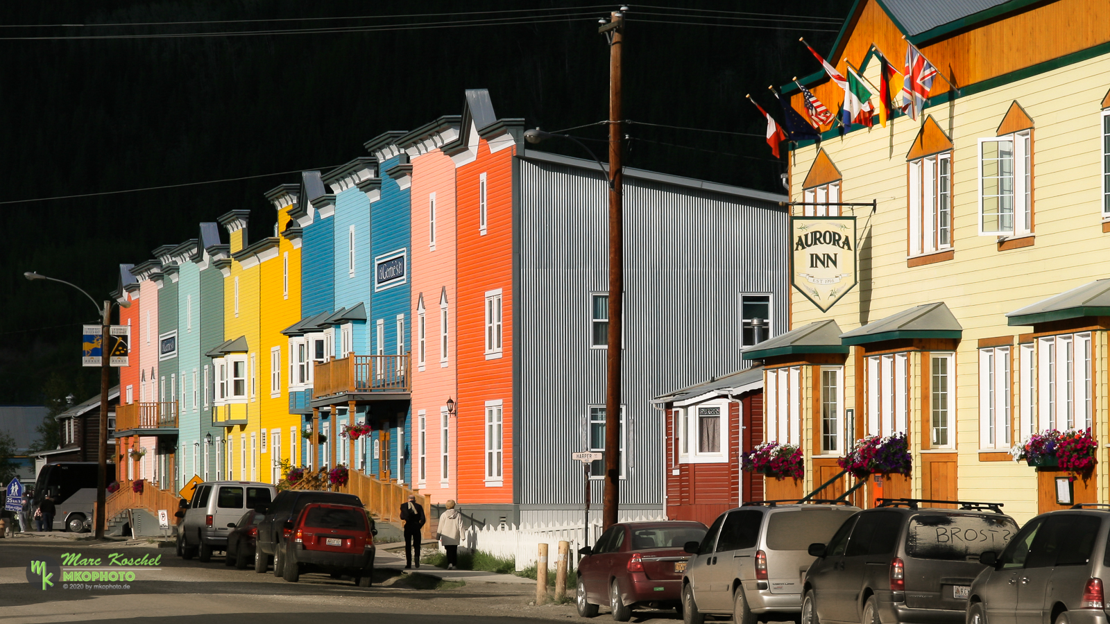 Colored Houses of Dawson City